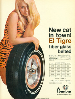 El Tigre Tires from Pennys High Performance Shop - 1970