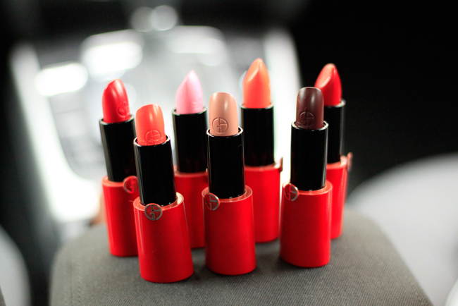 Armani Rouge Ecstasy Lipsticks Series 1 CATS & DOGS fashion blog Berlin 2