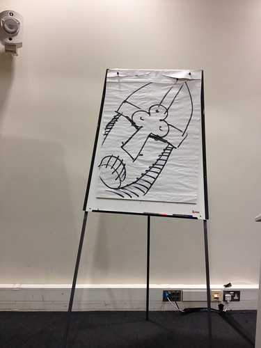 Drawing with Martin Brown Horrible Histories artist