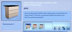 Clean Slate Counter Island by Hill Gulch Furnishings