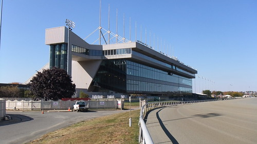 The Old #Meadowlands Grandstand On Another Bright Sunny Fall Day