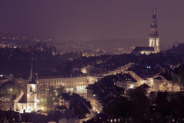 Berne at Night