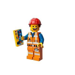LEGO The Movie 71004 - Collectible Minifigures - Hard Hat Emmet