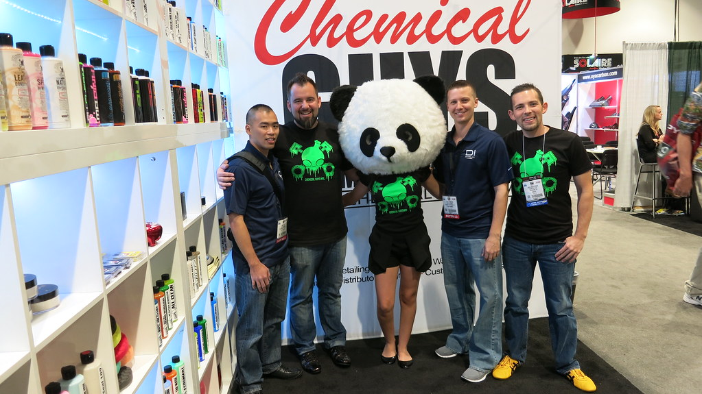SEMA Show Day 2 - Hanging with Chemicals Guys and CG Panda