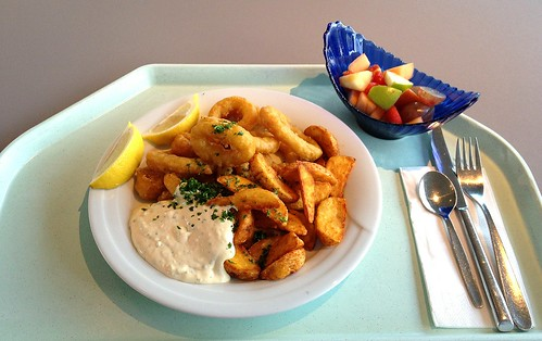 Calamari mit Remoulade & Country Potatoes