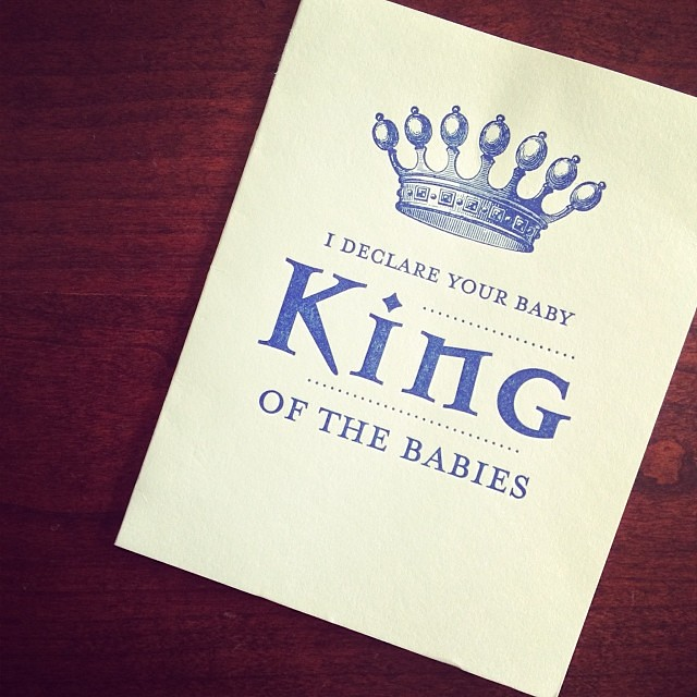 We're in the presence of royalty. Thanks for the card @weathert!