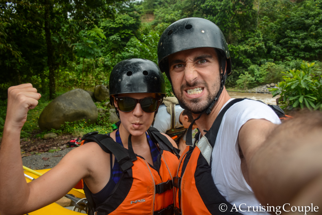 What Adventure Travel Means to Us - Whitewater Rafting La Fortuna, Costa Rica