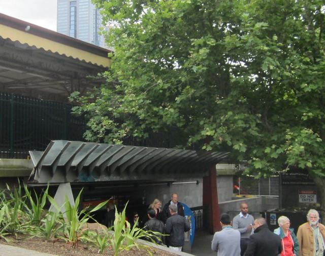 Flinders St Station, river entrance