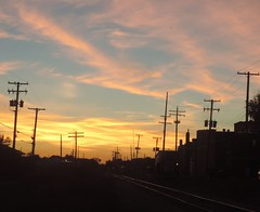 The Railroad To Sunset Sky