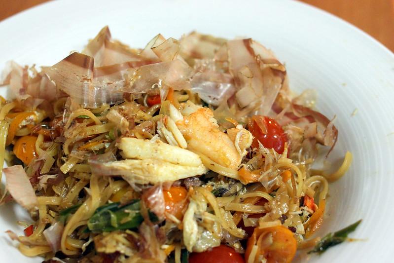 Recipe: Crab noodles – Pickled Peas