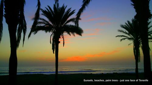 Sunset on Tenerife