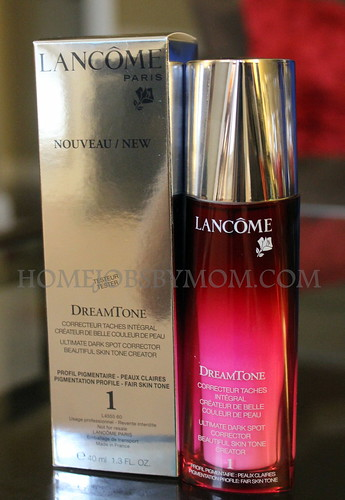 Lancome #Dreamtone Review and My #Bareselfie Picture