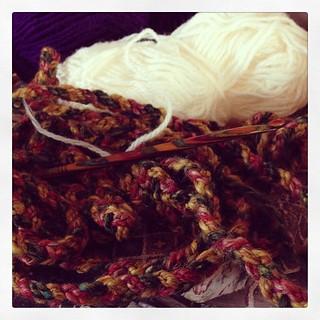 My #knitpro #crochet hook is camouflaged.