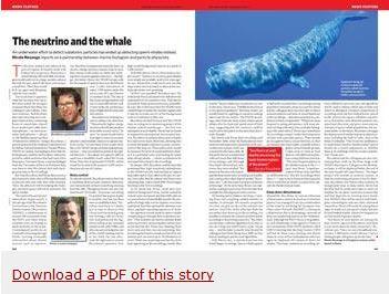 帕文與瑞可班尼教授團隊的跨界合作,登上了〈Nature〉期刊報導,欲進一步了解研究過程和結果,請點選圖片連結可下載報導PDF全文。圖片來源:http://www.nature.com/news/2009/091202/full/462560a.html