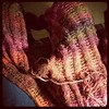 Good thing about this commission job, my favorite colourway of #silkgarden #noro #seaming #sweater