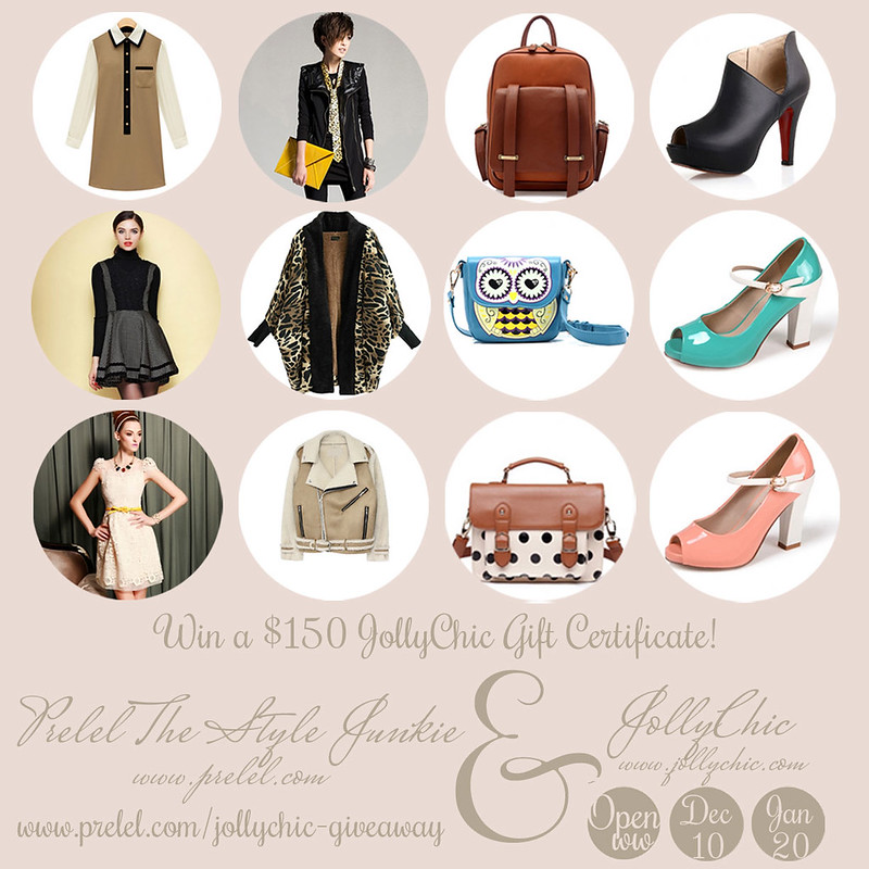 JollyChic internation gift certificate fashion giveaway