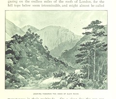 """British Library digitised image from page 163 of """"'Mountain, Moor and Loch' illustrated by pen and pencil, on the route of the West Highland Railway"""""""