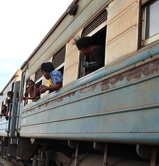 The Tanzania-Zambia Railway Authority (TAZARA) line has about 900,000 passengers who use the railway annually. Credit: Amy Fallon/IPS