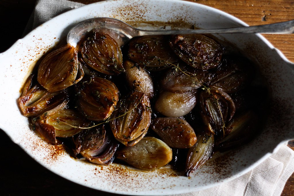 Balsamic-Roasted Shallots from Food52