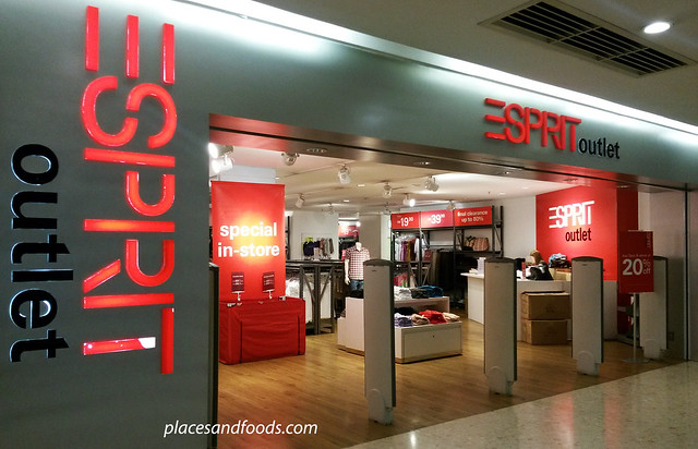 cheras leisure mall esprit outlet picture