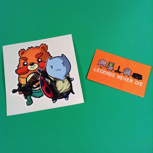 Loot Crate December 13 Sticker & Magnet