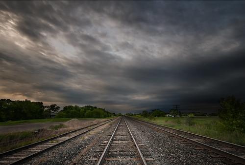 railroad tracks manitoba railwaytracks dugald