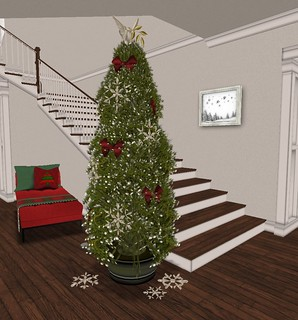 Holiday Home Tour: Entry Hall- Main Kismet Tree