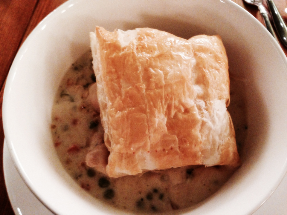 "A Little Too Fancy Chicken ""Pot"" Pie"