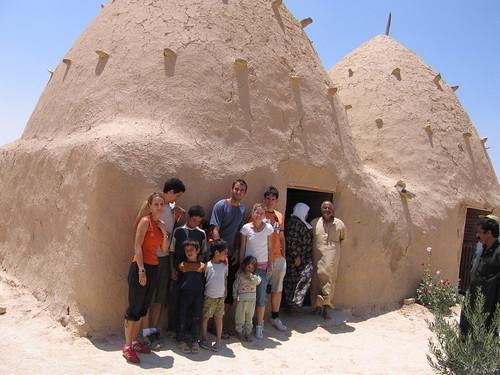 Casas colmena de Siria