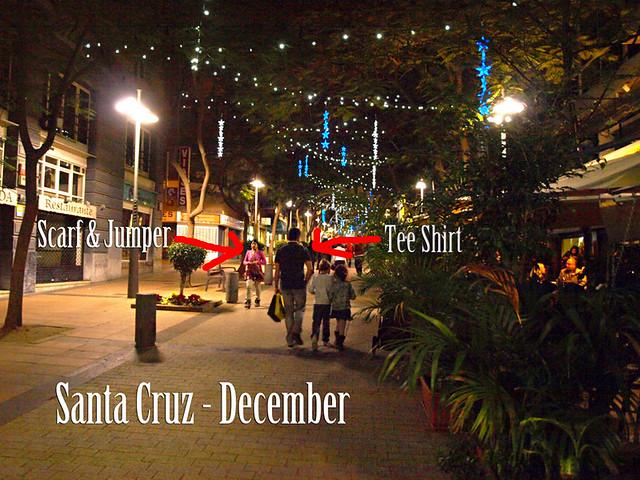 Santa Cruz December, Tenerife