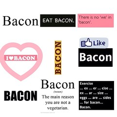 Ode to BACON! #ilovebacon