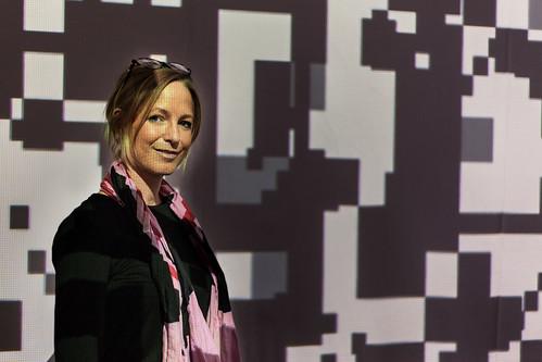 Annette Doms, copyright Miguel Chevalier, Foto: Pascal Maillard, 2013