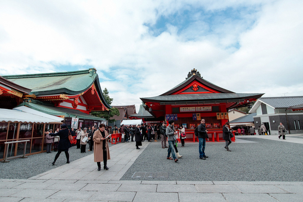 Wlaked with EOS M2 in Kyoto