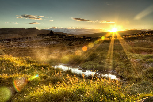 sunset sky sun nature water field photography iceland europe places steam hdr westfjords canon7d inspiredbyiceland