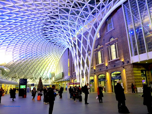 "Londra King's cross from the book ""Harry Potter e la pietra filosofale"" by J.K.Rowling"