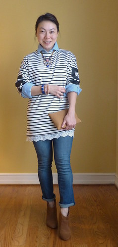 oversized stripes