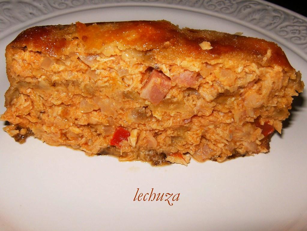 ... Pastel De Berenjena Porción   By Cocina Con La Lechuza