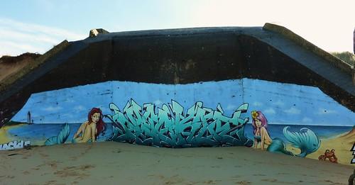 Ile de Ré, conche des Baleines, blockhaus