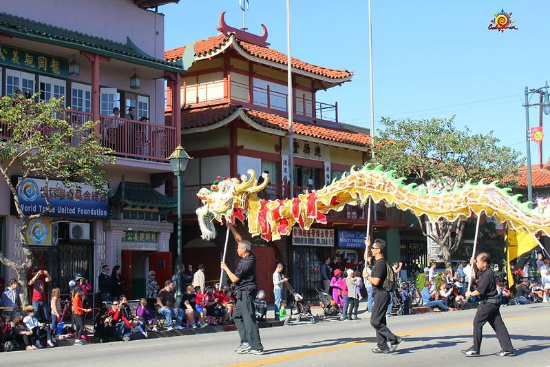 Año Nuevo Lunar en Chinatown