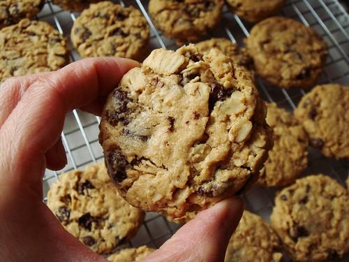 Kinako Chocolate Chip Cookies