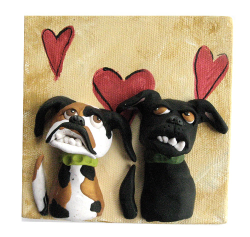 Valentine Dogs: Sniff and Make Up