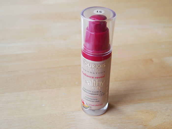 bourjois healthy mix foundation review shade 51 1
