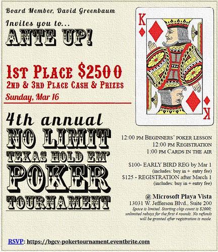 Boys & Girls Clubs of Venice Poker Tournament