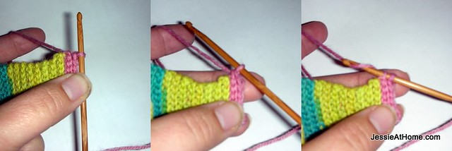 Slip-Stitch-Around