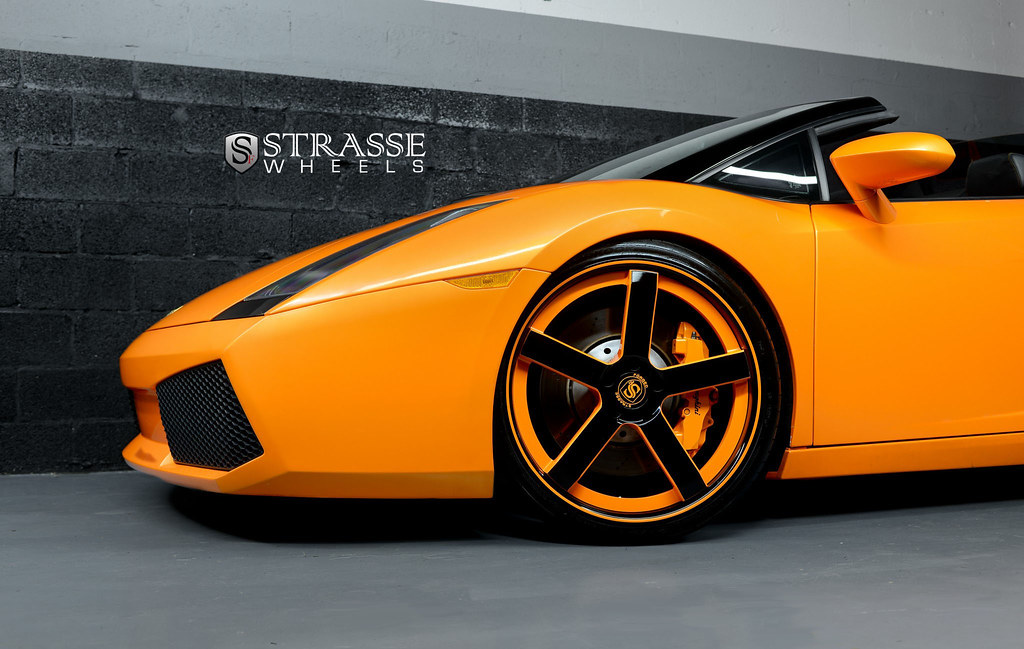 lamborghini gallardo spyder very custom set of concave. Black Bedroom Furniture Sets. Home Design Ideas