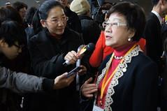 媒體訪問呂秀蓮/李後翰攝