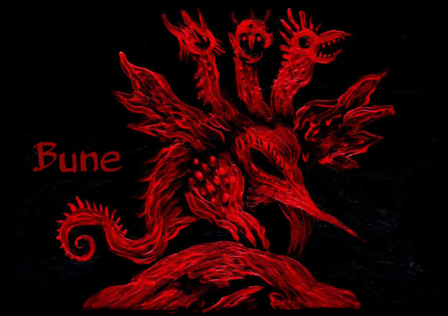 Bune - Demon and Spirit of Solomon