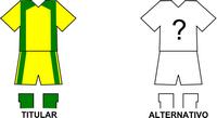 Uniforme Selección Caapuqueña de Fútbol