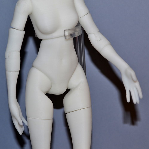 Quin - the 3D printed fashion doll