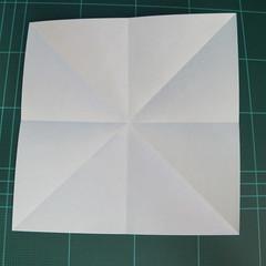 วิธีพับกระดาษเป็นจรวด X-WING สตาร์วอร์ (Origami X-WING) 002